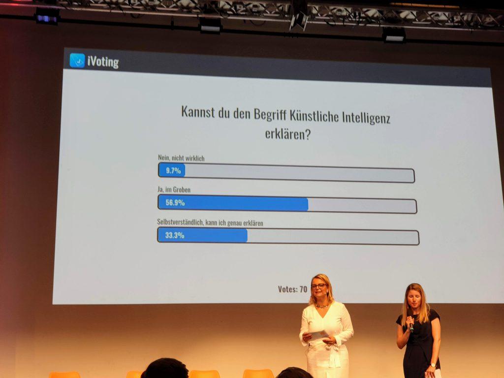 Impression AI Roadshow der JW 2019